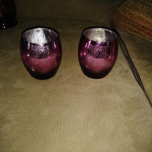 Other - Mercury votive holders